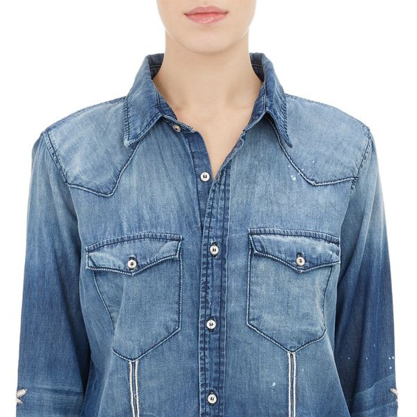 """NSF x Bliss and Mischief """"Song of the West"""" Denim Shirt"""