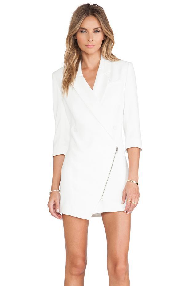 Lovers + Friends Spencer Dress in White