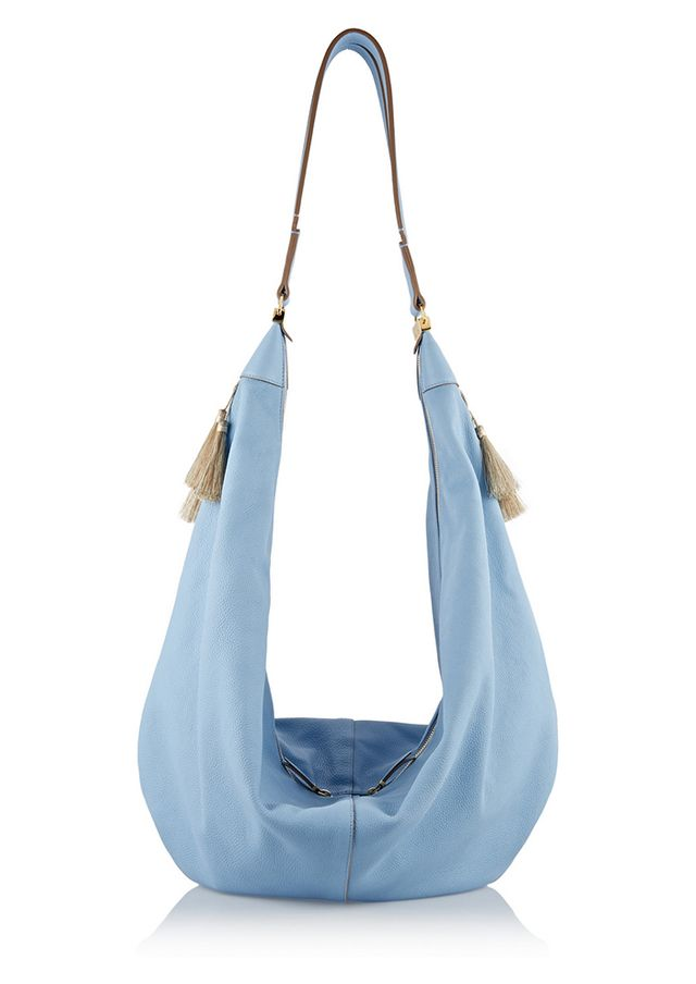 The Row Sling Leather Shoulder Bag