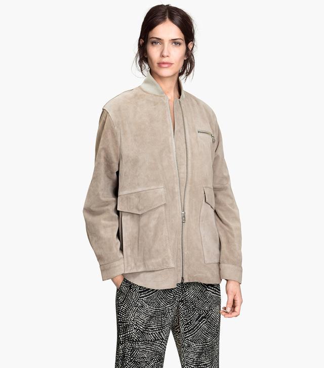 H&M Suede Jacket