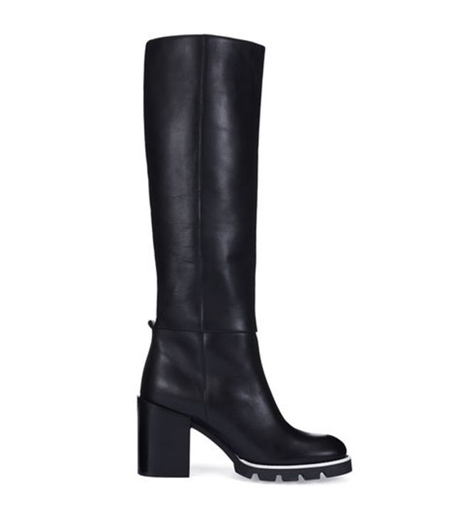 Whistles Vanda Cleat Knee High Boot