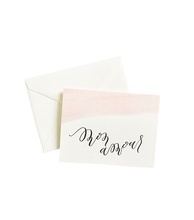 Alissa Bell Press Mon Amor Greeting Card