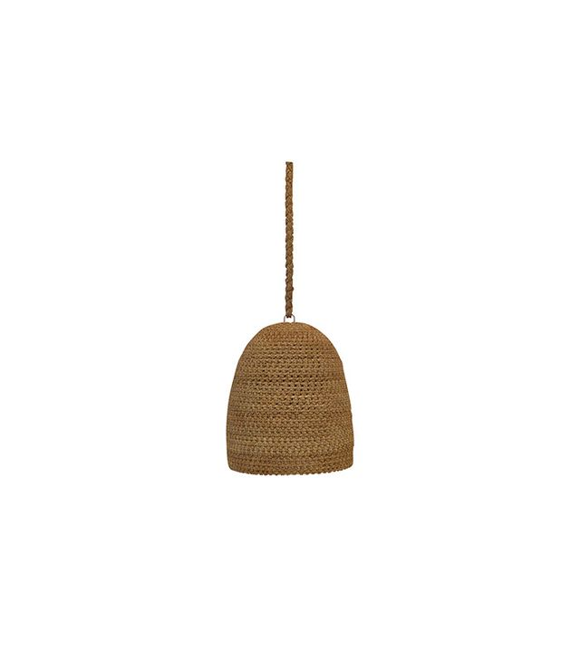 Home Nature Hand-Woven Rattan Pendant