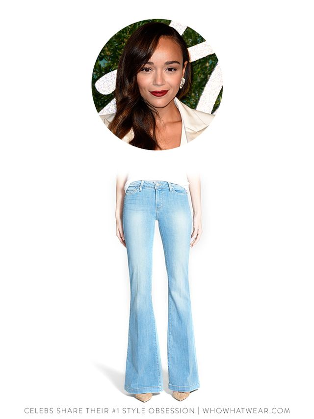 Paige Denim 'Fiona' Flare Jeans