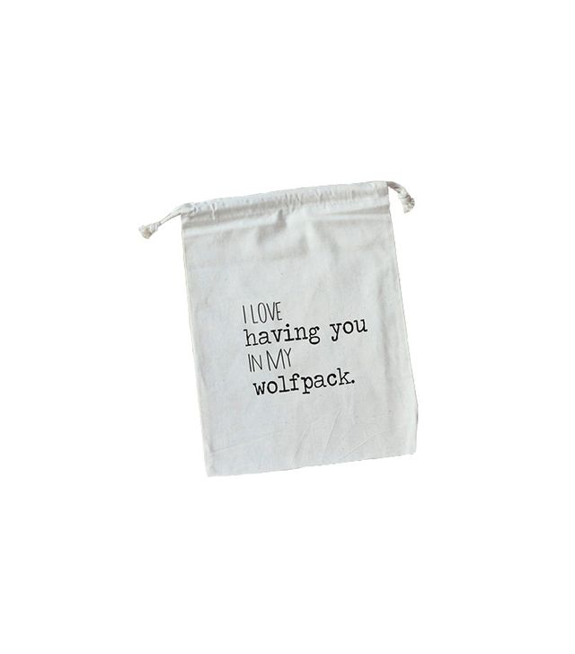 Etsy Wolfpack Favour Bag