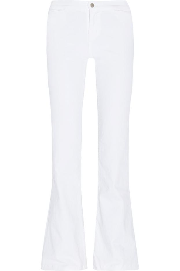 J Brand High-Rise Flared Jeans