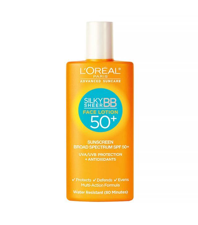 L'Oréal Paris Silky Sheer BB Face Lotion SPF 50+
