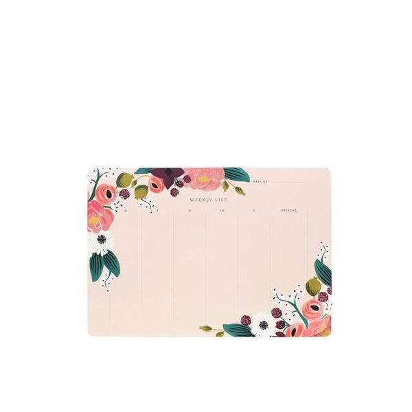 Rifle Paper Co. Pink Floral Deskpad