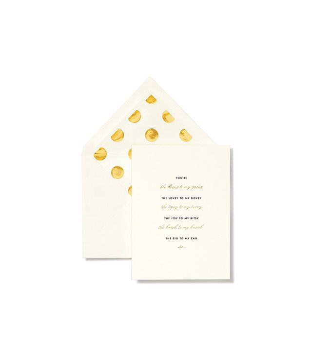 Kate Spade New York 'Hocus to My Pocus' Bridesmaid Note Cards