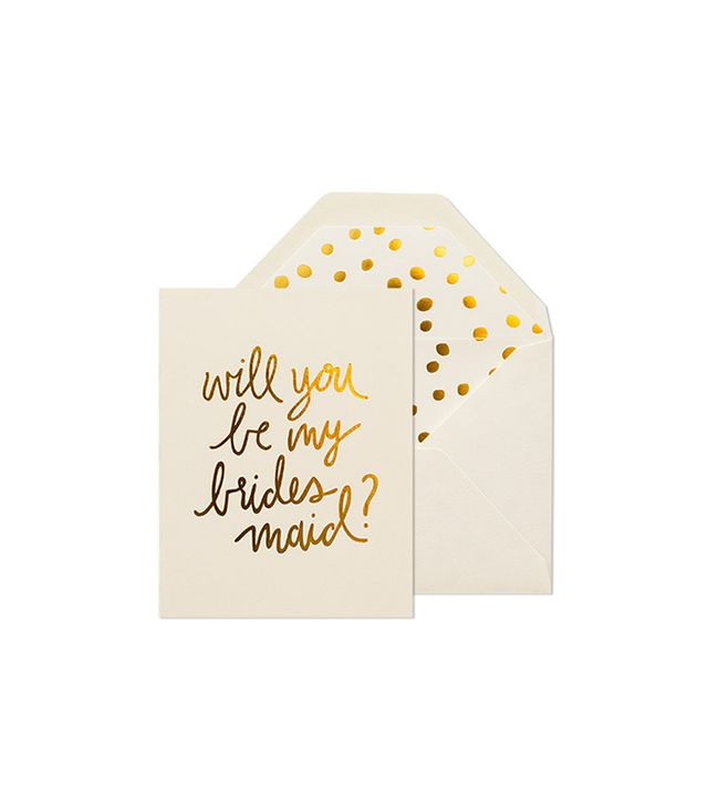 Sugar Paper Playful Bridesmaid