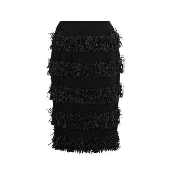 Whistles Rios Frayed Skirt