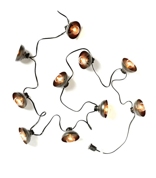 West Elm Industrial String Lights