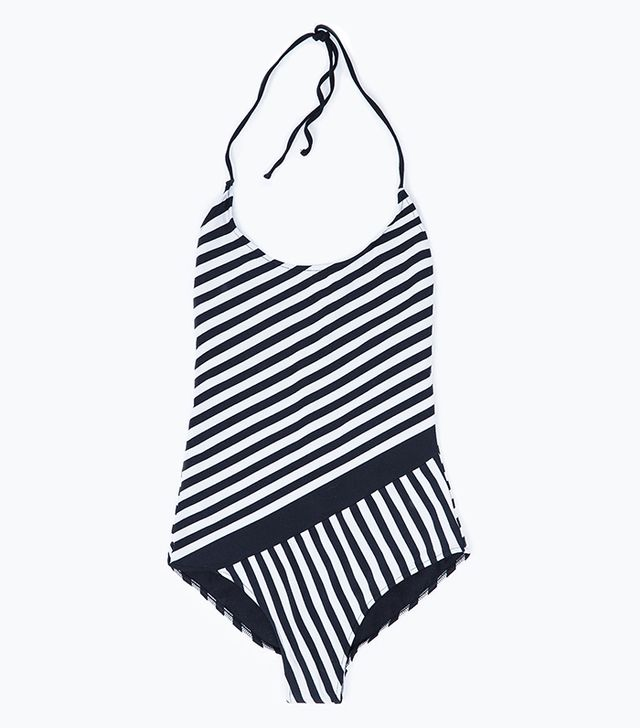 Zara Striped Swimsuit