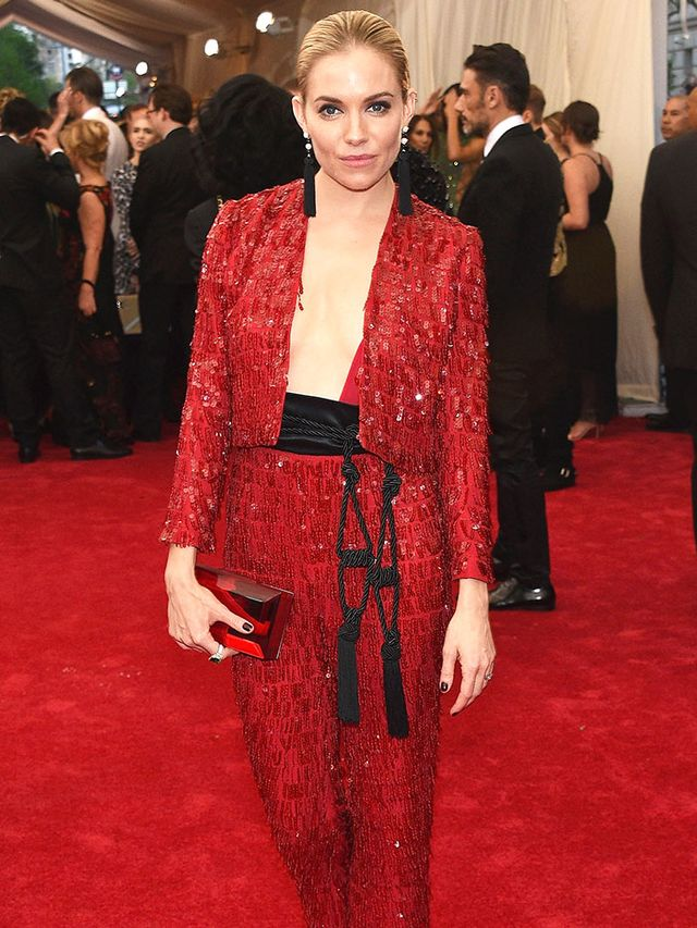 Why Sienna Miller Compared Herself to a Christmas Tree