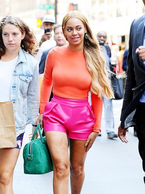 Beyoncé Embraces Bright Colours for Summer