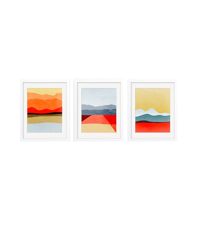 """Abstract Landscapes"" by Eve Sand"