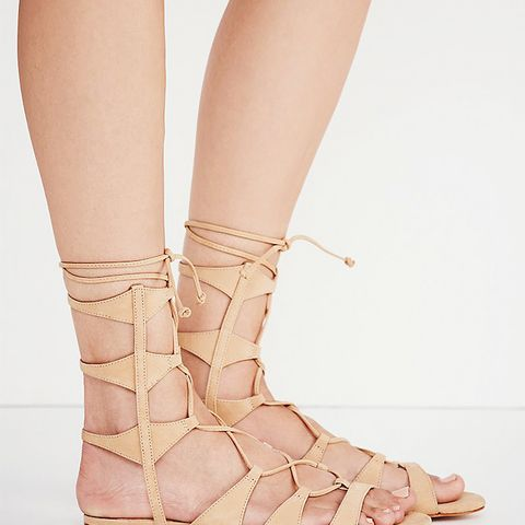 Lina Lace-Up Gladiator Sandals