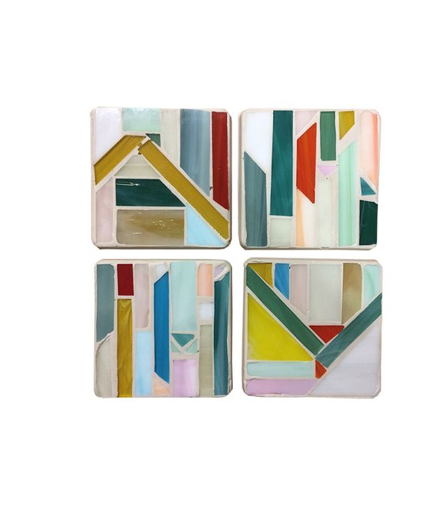 Debbie Bean Handmade Stained Glass Coasters
