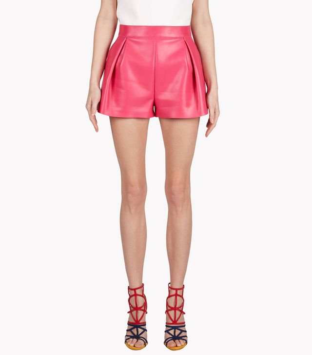 Dsquared2 Agnes Leather Shorts