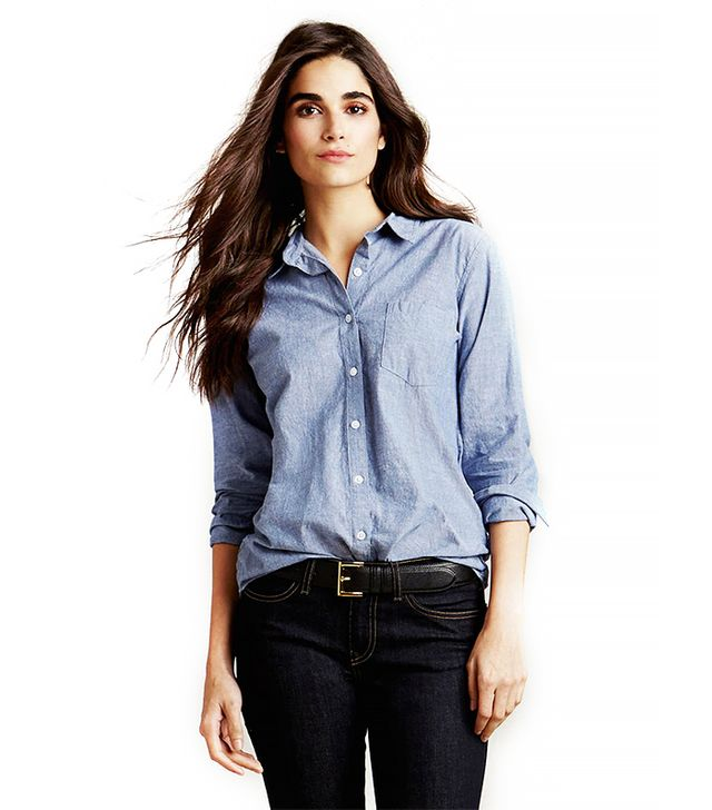 Steven Alan Reverse-Seam Chambray Shirt