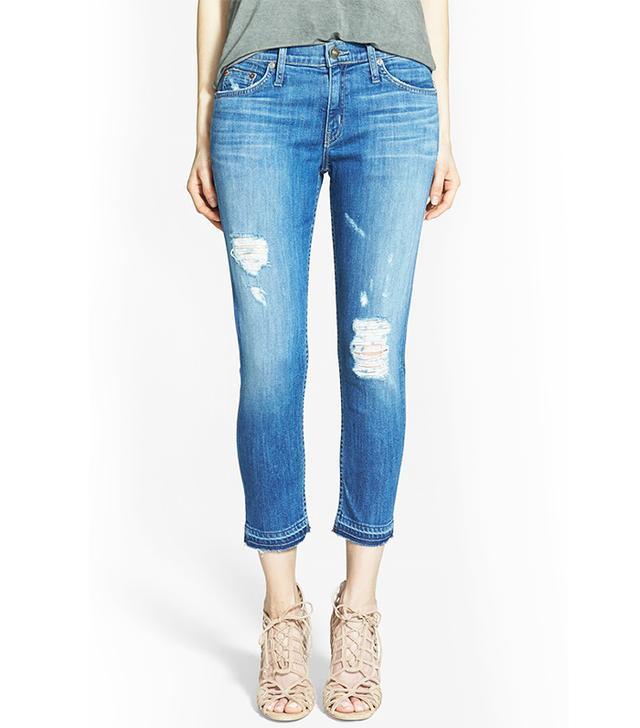 Hudson Jeanas Skylar Crop Skinny Jeans
