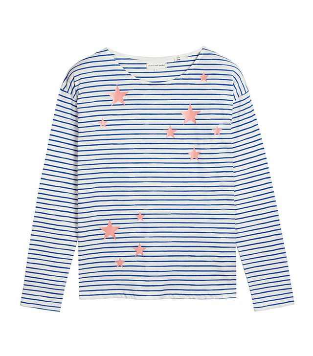 Chinti & Parker Star Long Sleeve Tee
