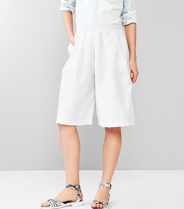 Gap Pleated Culottes