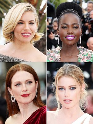 From Sienna to Lupita, the Best Red Carpet Beauty From Cannes