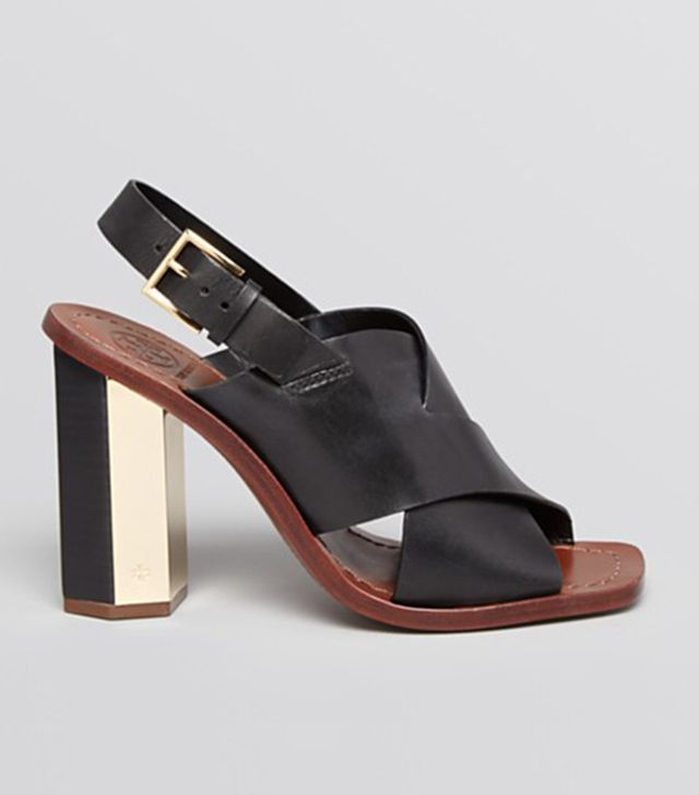 Tory Burch Open Toe Slingback Sandals
