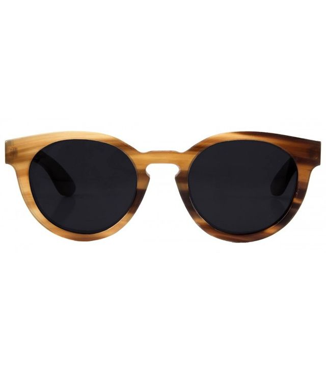 Woodzee Buffalo Horn Sunglasses
