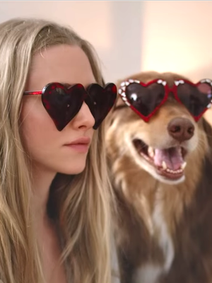 When Your Dog Is Your BFF, Starring Amanda Seyfried