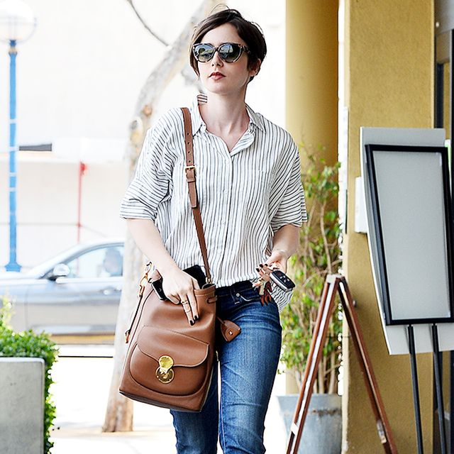 The Budget-Friendly Brand That Lily Collins Loves