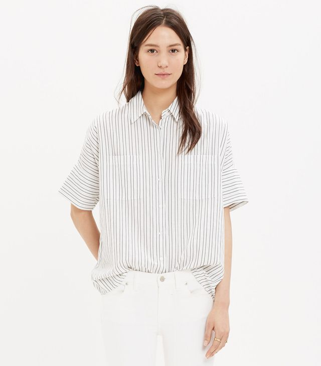 Madewell Courier Shirt in Strip