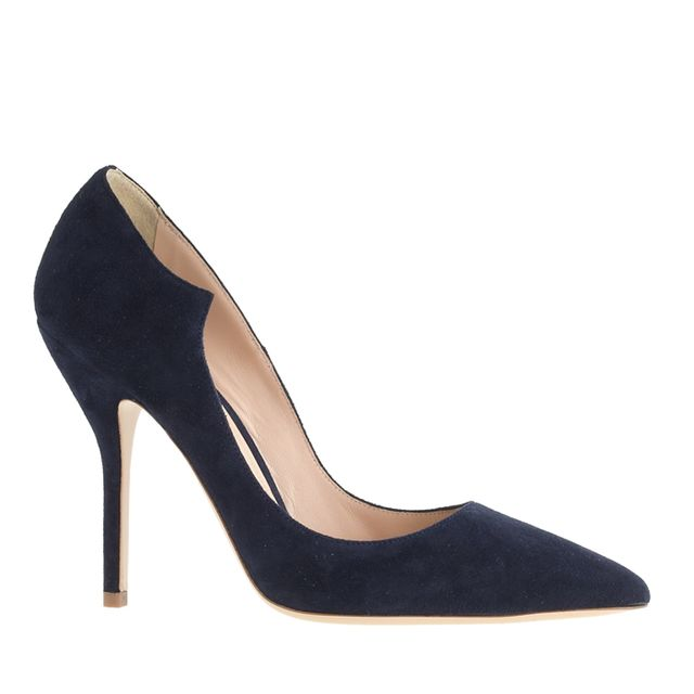 Paul Andrew for J.Crew Suede Pumps
