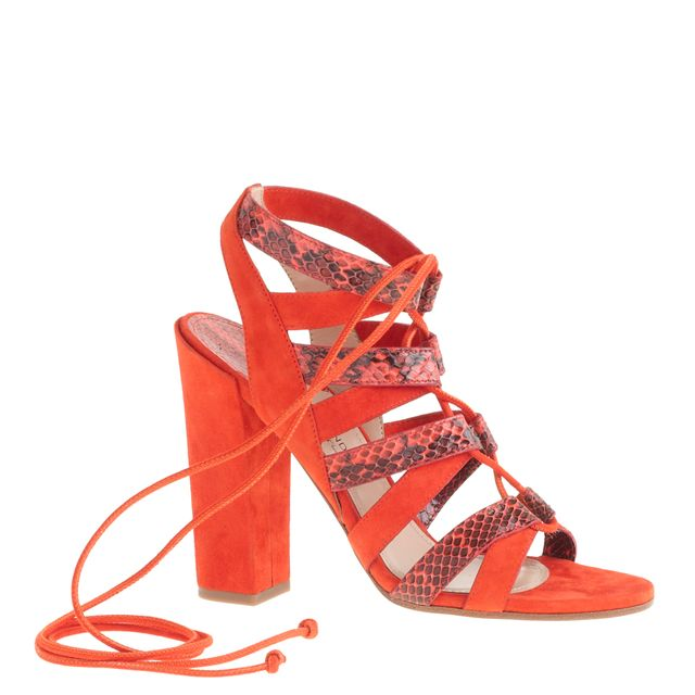 Paul Andrew for J.Crew Lace-Up Sandals