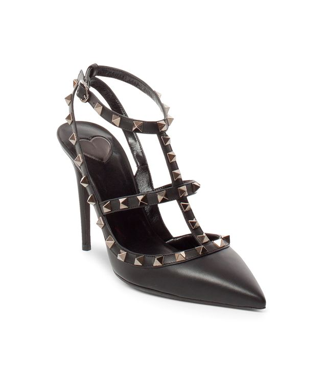Valentino Cash & Rocket Leather Rockstud Stiletto Pumps