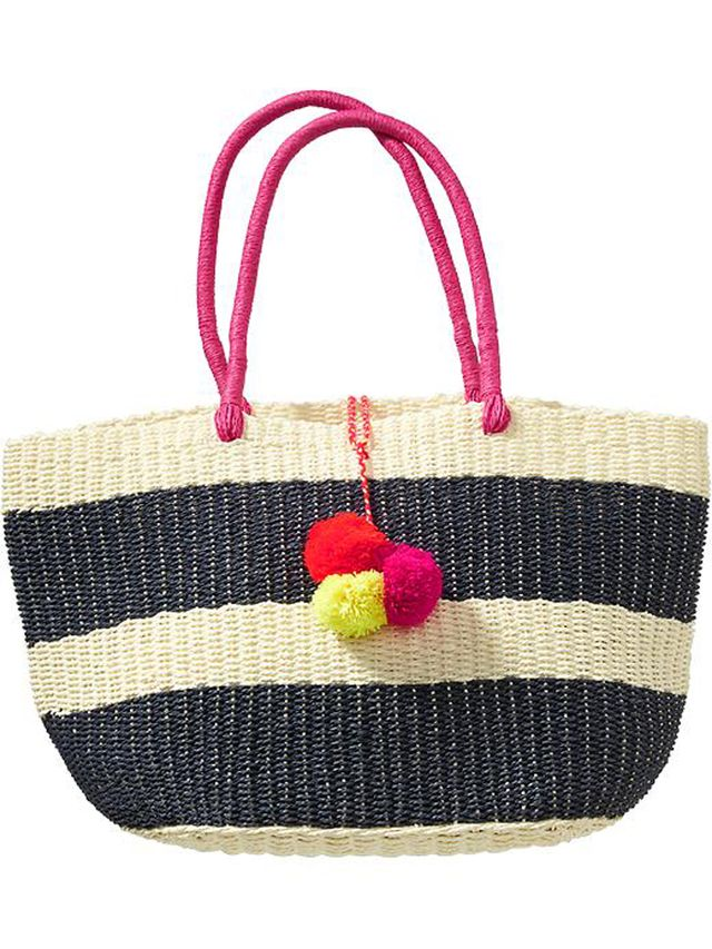 Old Navy Straw Tote