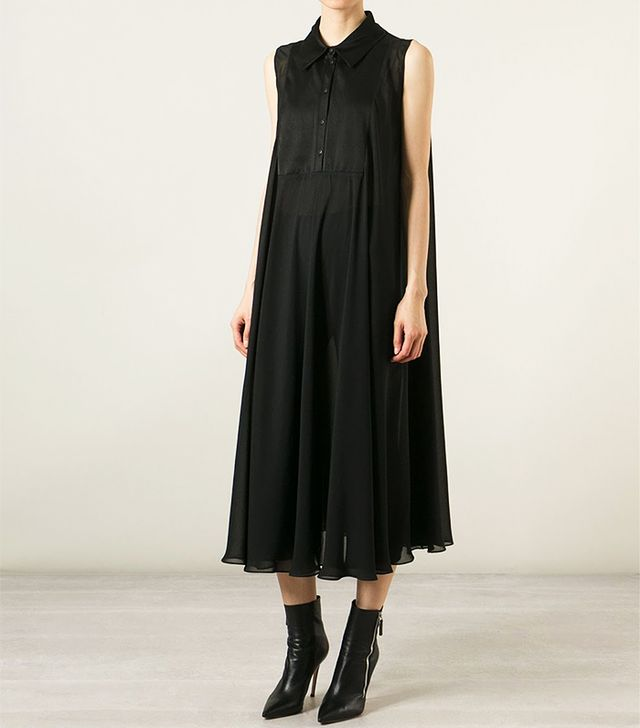Pas du Tout Sheer Swing Dress