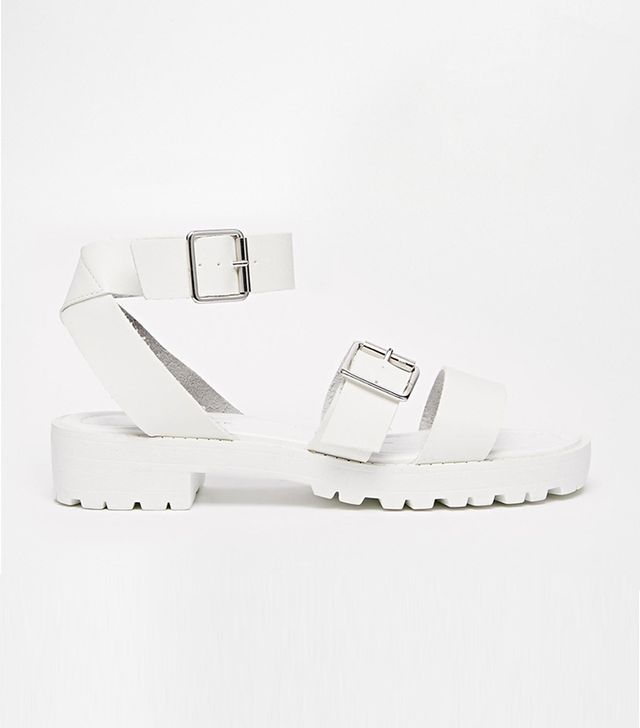 New Look Fudge Clean Strap Sandals