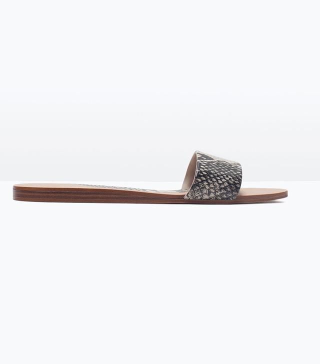 Zara Printed Sandals