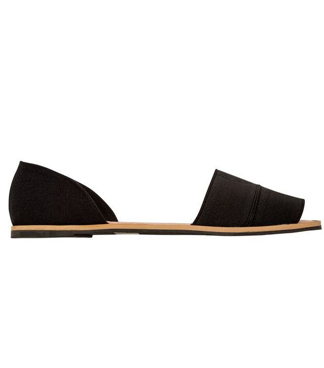 Swell Restricted Huggable Open Toe Flat