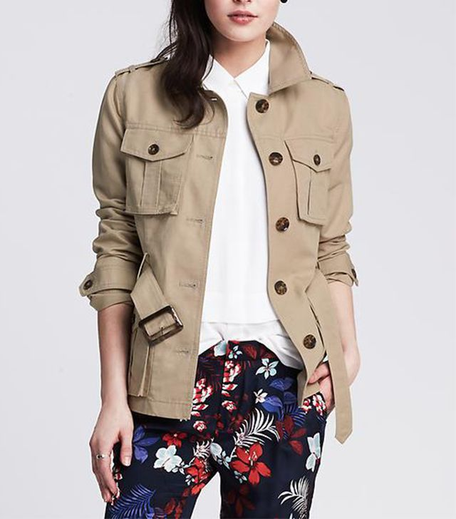 Banana Republic Heritage Belted Safari Jacket