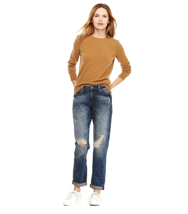 Joe Fresh Distressed Boyfriend Jeans