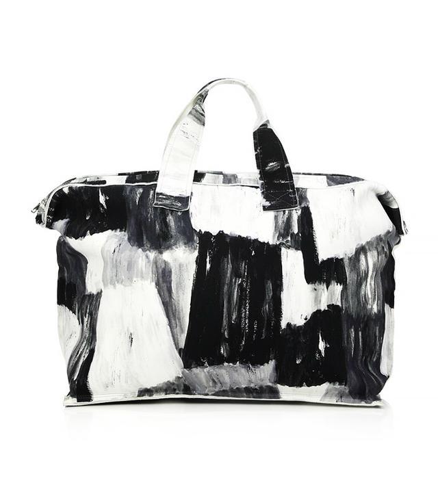 Norma Kamali Printed Rectangle Bag