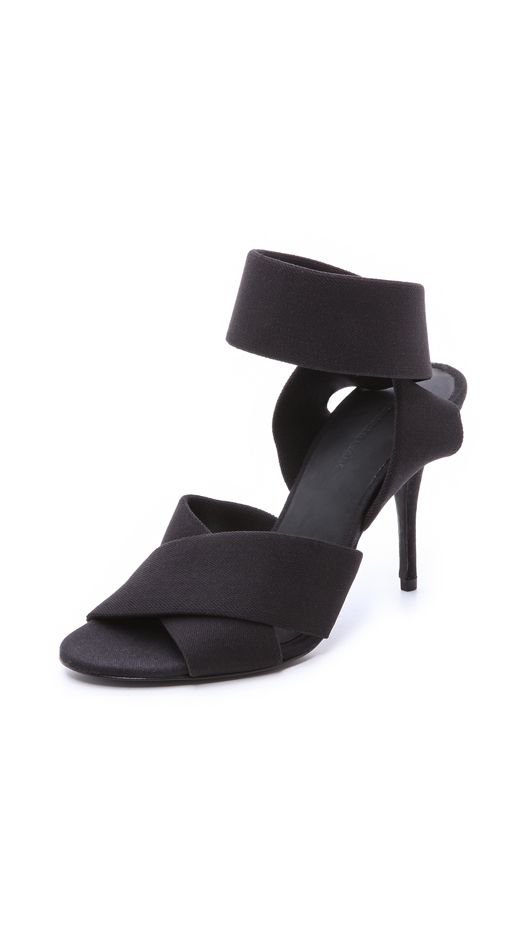 Alexander Wang Dana Ankle Strap Sandals