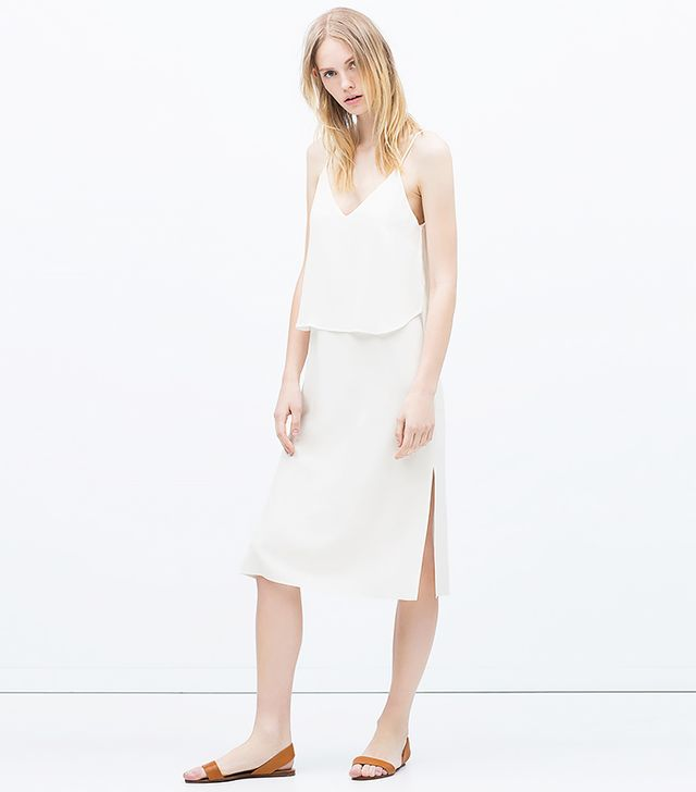 Zara Long Double Layer Dress