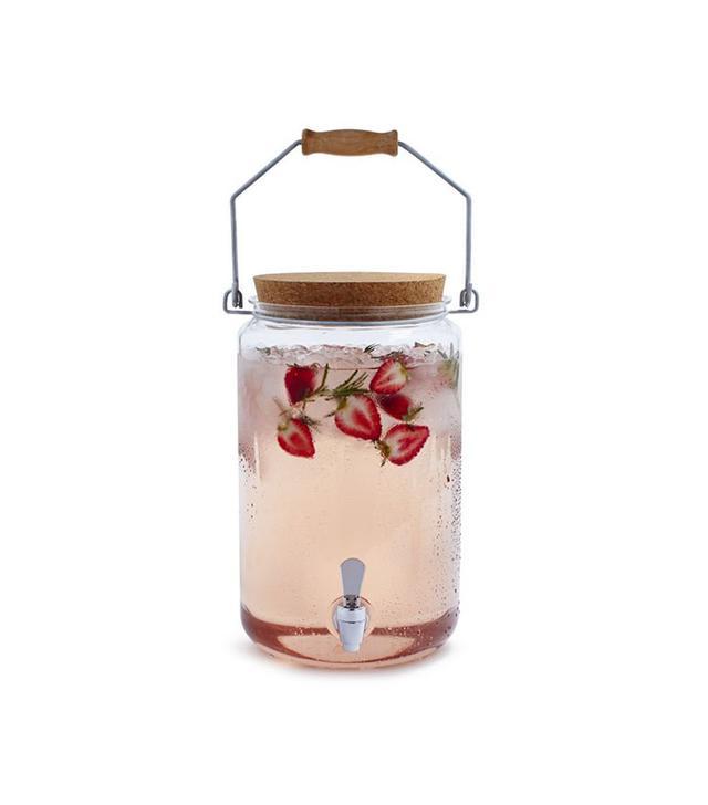 Sur La Table Acrylic Milk Jug Beverage Jar