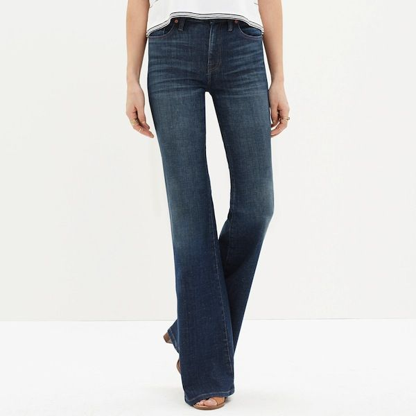 Madewell Flea Market Flares in Carl Wash
