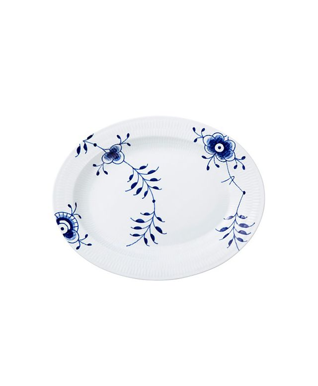 Royal Copenhagen Blue Fluted Mega Oval Platter
