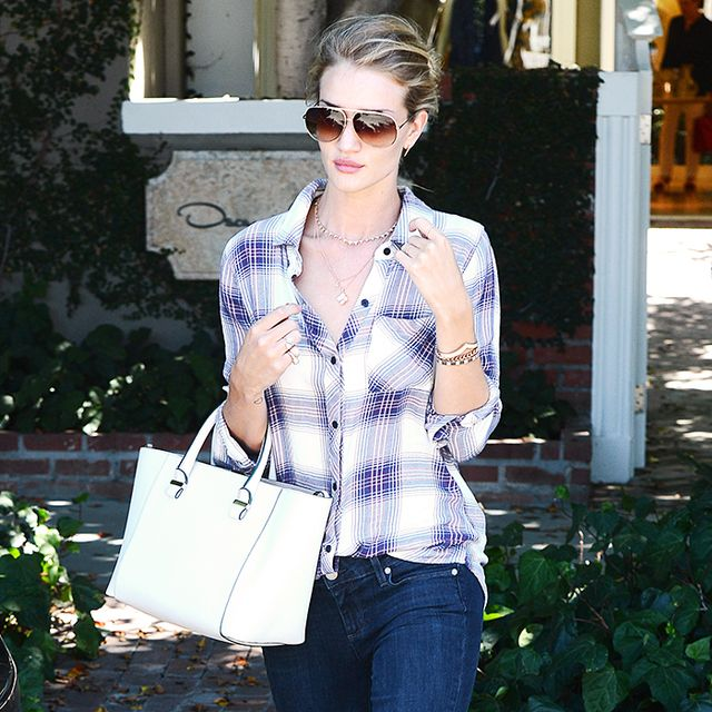 Where Almost Every Celeb Buys Plaid Button-Down Shirts